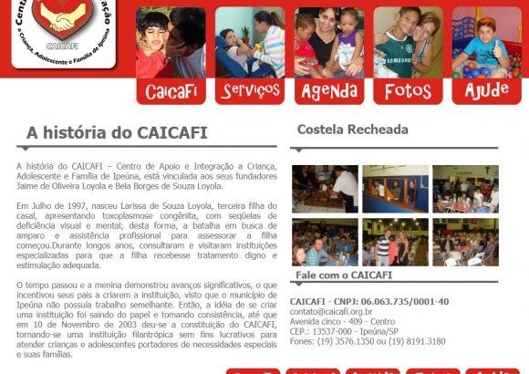 CAICAFI – Centro de Apoio e Integraçao a Criança, Adolescente e Família de Ipeúna